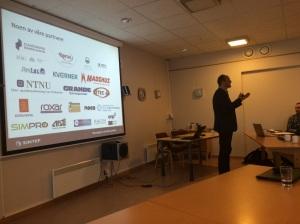 Lars Skjelstad, HPWS.no og SINTEF (foto: Hanne O. Finnestrand)